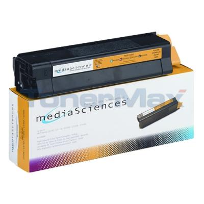 MEDIA SCIENCES TONER YELLOW FOR OKI C5000